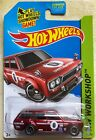 Super Treasure Hunt 71 Datsun Bluebird Wagon 510 Hotwheels 2014 JDM