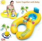 WONICE Baby Swim Pool Float Seat Pool Toy With Mommy Swim Ring With Air Pump