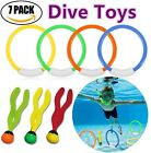 ONMet Underwater Swimming Pool Toys For Kids Sinking Diving Game Toy 4 Ring 3