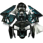 Sky Blue Flame Painted Fairings Motorcycle For Honda CBR 600 RR F5 2003 2004 03