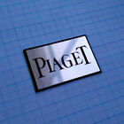 PIAGET -  Logo Sticker - Metallic Aluminium 48mm / 32mm
