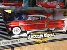 ERTL American Muscle 1958 Chevy Impala Hard Top Red LE 118 Scale Diecast 58 Car