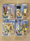 NICKELODEON REN AND STIMPY SET OF 4 PALISADES ACTION FIGURES BRAND NEW HTF!