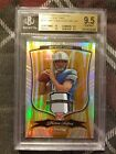 2009 BOWMAN STERLING MATTHEW STAFFORD JERSEY PATCH 3 COLORS GOLD REFRACTOR BGS