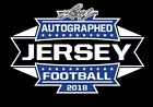 2018 Leaf Autographed Football Jersey Limited Edition Football Box