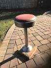 VINTAGE LUNCH DINER SODA FOUNTAIN SPINNING STOOL SEAT 1960s pick up only