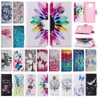 For Motorola Moto G4 G5 G6 G5S Plus E4 Leather Flip Case Card Wallet Stand Cover