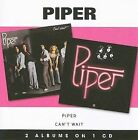 Piper Can't Wait CD HARDROCK American Beat Records NEW SEALED 2 ALBUMS ON 1 CD