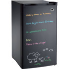Igloo 3.2 cu. ft. Eraser Board, Flush-Back Design Mini Refrigerator,