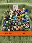 Vintage Marbles (Lot 99) German hand made glass Akro Peltier Marble King
