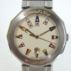 Authentic CORUM Admiral's Cup (boy's size) Watch  Quartz[Used]