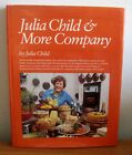 JULIA CHILD  MORE COOKBOOK SIGNED BY JULIA  PAUL CHILD HCDJ 1ST ED