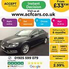 2014 BLACK VW PASSAT 20 TDI 140 BMT EXECUTIVE DSG SALOON CAR FINANCE FR 33 PW