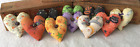 Primitive Ornies Halloween Mini Hearts Bowl Fillers Make Do's Fall Tucks