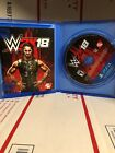 WWE 2k18 for Playstation 4 ADULT OWNED Used