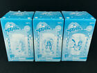 Squid Girl Shinryaku! Ika Musume Glass Complete set of 3 Taito Kuji New