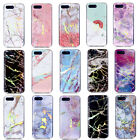 Granite Marble Pattern Slim Soft TPU Case Cover For iPhone Xiaomi Nokia HTC 1+6