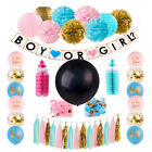 45Pcs set Boy Or Girl Balloon Dcor Kit Baby Shower Gender Reveal Party Supplies