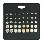 WHOLESALE LOT 50 PAIRS STUD EARRINGS FREE SHIPPING FROM NYC