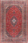 Grand Traditional Floral 8x12 Wool Kashan Persian Oriental Area Rug 13' x 9' 7