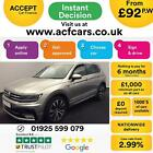 2016 SILVER VW TIGUAN 20 TDI 150 BMT 4MOTION R LINE DSG CAR FINANCE FR 92 PW
