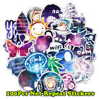 100 Bomb Stickers Graffiti Vinyl For Car Skateboard Sticker Laptop Luggage Decal