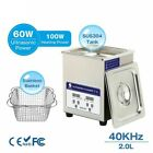Ultrasonic Cleaner Bath Digital Ultrasound Sonic Cleaner Timer Heat For Home Lab