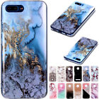 Shockproof Soft TPU Case Retro Marble Cute Pattern Cover For iPhone Xiaomi Nokia