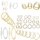 40 Pairs High End Hoop Earrings Wholesale Jewelry Lot ❤️FREE Shipping :)