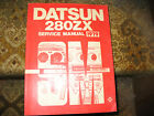 1979 Datsun  280ZX service manual with pictures Great Shape, Hundreds of pages
