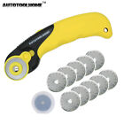 28mm Rotary Cutter 10x Refill Blades Sewing Tool For OLFA Fabric Paper Patchwork