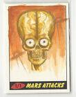 Shaun Stroup 2012 Topps MARS ATTACKS HERITAGE Color Sketch Card 1 1