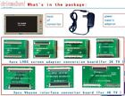 NEW TV Mainboard Tester Tools VbyoneLVDS to HDMI Converter With 7 Adapter Plate