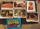 1981 Donruss DUKES OF HAZZARD WHITE BORDER Complete Set (66)with STICKERS (6)