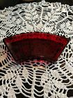 Vintage Ruby Red  OLD CAFE RELISH TRAY INSERT Replacement