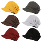 NEW Unisex Womens Mens Knit Baggy Beanie Beret Hat Winter Warm Cotton Peaked Cap