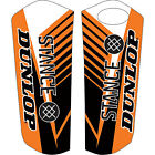 Attack Graphics Turbine Lower Fork Guard Decal Orange for KTM 450 XC-W 2008-2015
