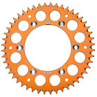 Primary Drive Rear Aluminum Sprocket 50 Tooth Orange for KTM 250 XC 2006-2018