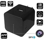 WiFi Hidden Spy Camera Wall Charger HD 1080P Security Camera with Motion Video
