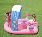 Intex Baby Hello Kitty Play Center Kids Inflatable Swimming Splash Pool Slide