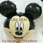 Giant Mickey Mouse Happy Birthday Party Balloons Party Foil Decoration