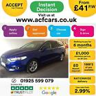2015 BLUE FORD MONDEO ESTATE 20 TDCI 150 TITANIUM DIESEL CAR FINANCE FR 41 PW