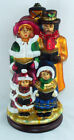 2004 Thomas Pacconi Classics Large Blown Glass Christmas Carolers on Wood Base