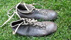 Old Boots Vintage Schoes 1940's Football Leather In Nice Condition Adidas