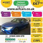 2015 BLUE BMW 320D GT 20 XDRIVE M SPORT DIESEL AUTO HATCH CAR FINANCE FR 67 PW