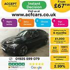 2015 BLACK BMW 320i GT 20 M SPORT PETROL AUTO HATCH CAR FINANCE FR 67 PW