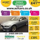2014 BLUE BMW 320D 20 LUXURY DIESEL AUTO 4DR SALOON CAR FINANCE FR 41 PW
