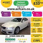 2011 WHITE BMW 320i 20 M SPORT PETROL MANUAL 2DR COUPE CAR FINANCE FR 33 PW