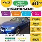 2016 BLUE BMW 430D GRAN COUPE 30 XDRIVE M SPORT DIESEL CAR FINANCE FR 96 PW
