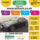 2014 GREY BMW 420D 20 M SPORT DIESEL AUTO CONVERTIBLE CAR FINANCE FR 71 PW